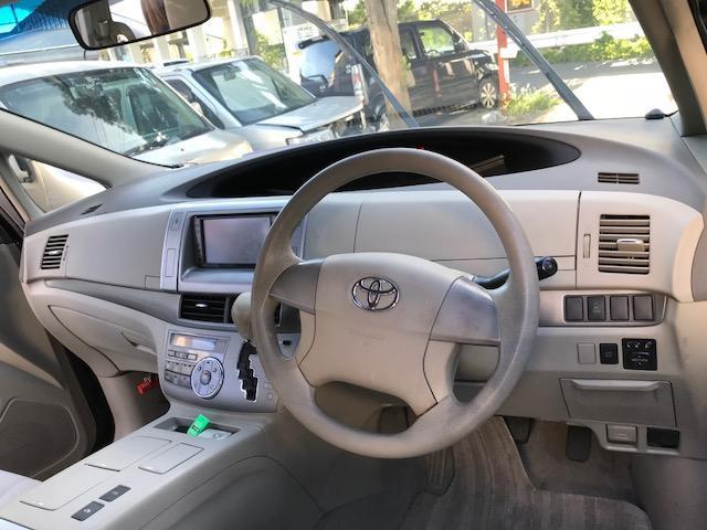 視界が広いので運転しやすいお車です。