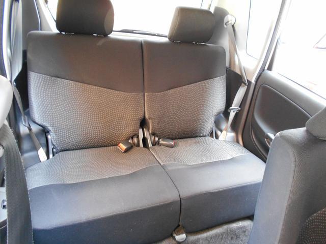 リアの座席もとても広いですよ。