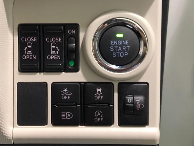 プッシュボタンでエンジンがかけられます。また両側パワースライドなので両手が塞がっていてもワンタッチでドアの開閉が可能です!他にもオートハイビームや横滑り防止機能など安全機能が搭載!