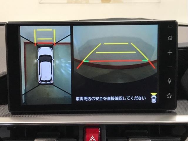 パノラマカメラ付き!死角になる部分もモニターに映し出すので安全運転をサポートします。