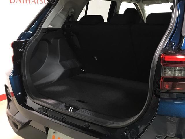 リヤシート使用時の荷室スペースです