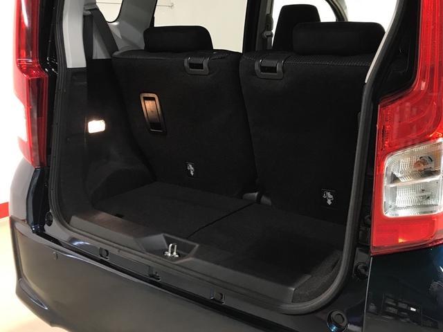リヤシート使用時の荷室スペースです!
