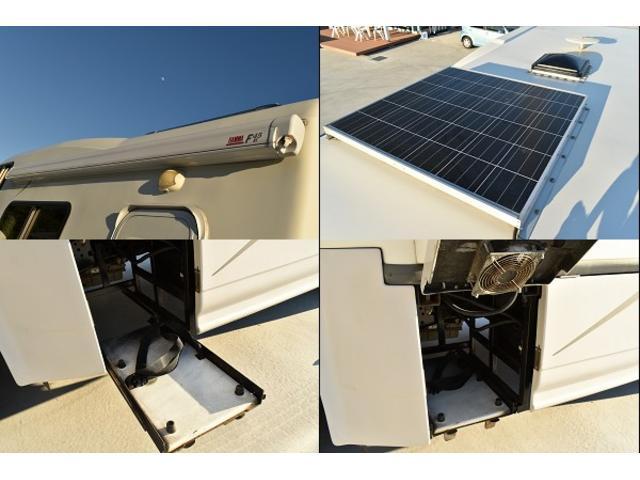 トヨタ カムロード ナッツRV ミラージュ ボーダーED FFヒーター 冷蔵庫