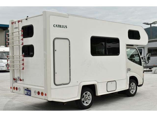 トヨタ カムロード アネックス カティルス FFヒーター 常設二段ベッド 冷蔵庫
