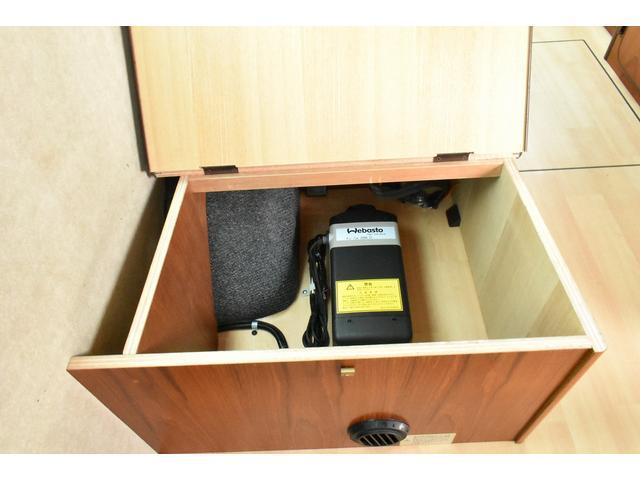 日産 キャラバン ビークル ブロス FFヒーター 二段ベッド 走行充電