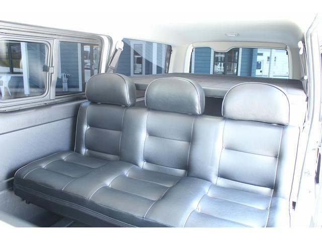 トヨタ ハイエースバン 車中泊仕様 リアクーラー・リアヒーター バイパーセキュリティ