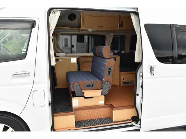 トヨタ ハイエースバン アルペジオ 寒冷地仕様 冷蔵庫 17インチAW メモリーナビ