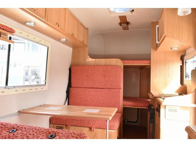 マツダ ボンゴトラック カトーモーター ボーノC 常設二段ベッド FFヒーター