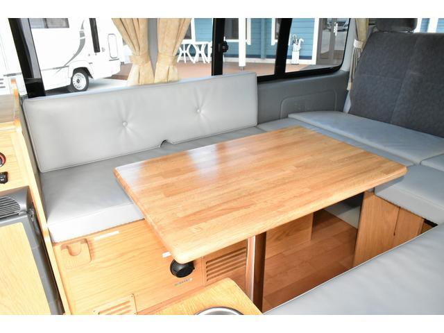 トヨタ ハイエースワゴン カトーモーター オリジナルキャンパー FFヒーター 冷蔵庫