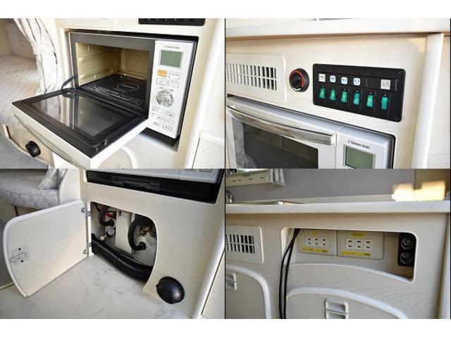 三菱ふそう ローザ RVビックフット プロローグ 発電機 家庭用エアコン 冷蔵庫