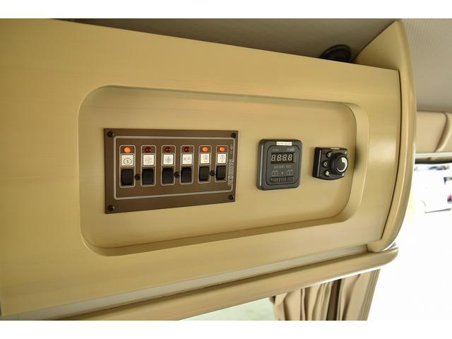 トヨタ ハイエースバン アムクラフト コンパスレガロ FFヒーター 冷蔵庫 シンク