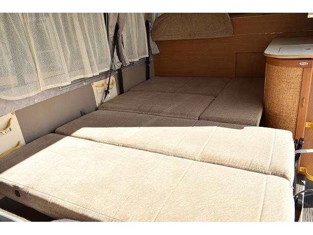レクビィ トートバッグ オーニング ルーフベント 常設ベッド(7枚目)
