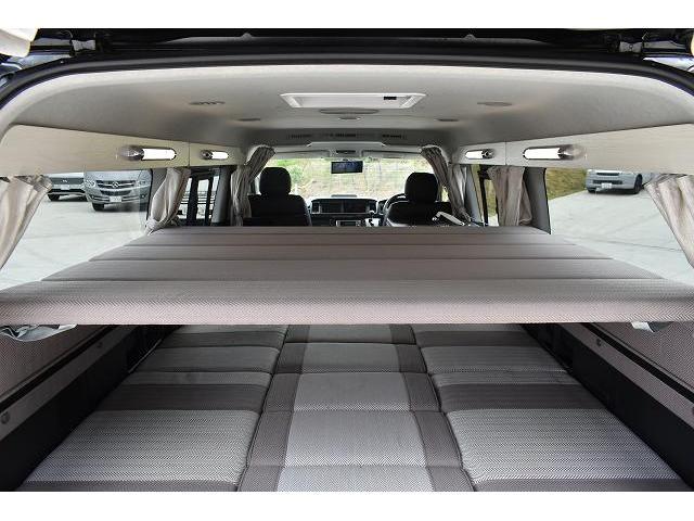 ナッツRV トライアル 4WD ツインサブ FFヒーター 400W、1500Wインバーター マックスファン ソーラーパネル 冷蔵庫 シンク 架装部TV 地デジアンテナ リアヒーター リアクーラー ミラー型モニター(52枚目)