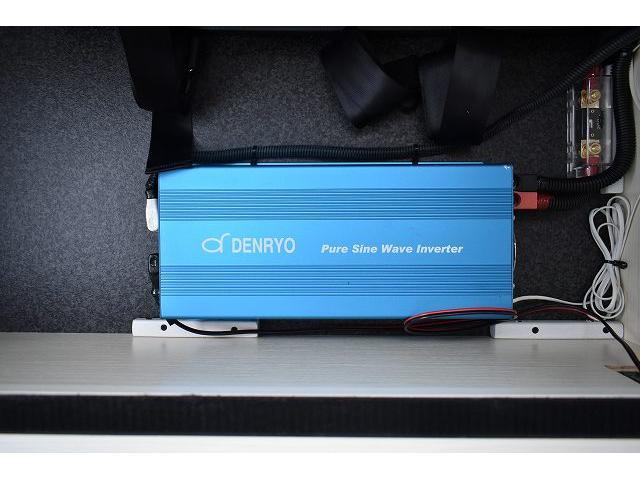 ナッツRV トライアル 4WD ツインサブ FFヒーター 400W、1500Wインバーター マックスファン ソーラーパネル 冷蔵庫 シンク 架装部TV 地デジアンテナ リアヒーター リアクーラー ミラー型モニター(58枚目)