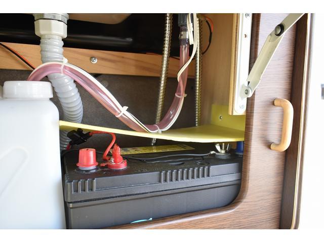 ドリームミニ Bタイプ ワンオーナー サブバッテリー サイドオーニング シンク 社外SDナビ バックカメラ ETC ドラレコ フリップダウンモニター キーレス(40枚目)
