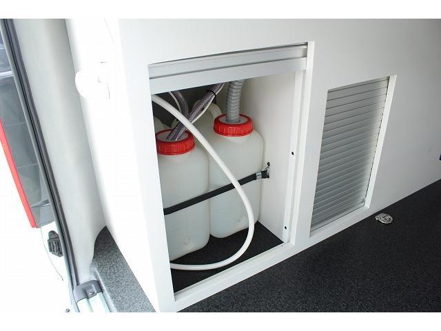 ナッツRV リーク ワンオーナー 寒冷地仕様 リフトアップ ツインサブ FFヒーター 1500Wインバーター シンク カセットコンロ エンゲル冷蔵庫 走行充電 外部充電 外部電源 社外ナビ フルセグ バックカメラ(28枚目)