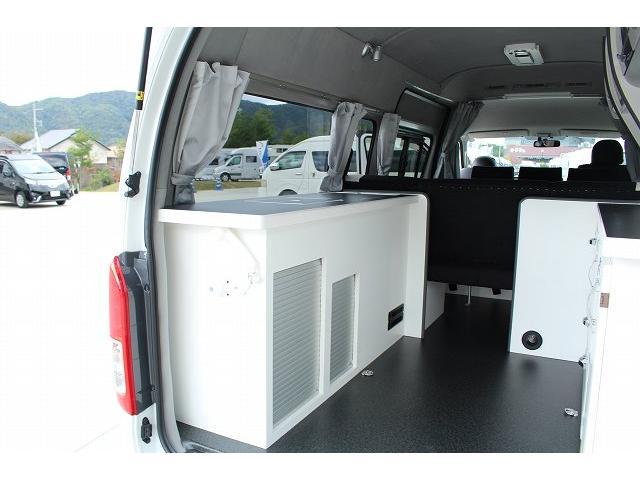 ナッツRV リーク ワンオーナー 寒冷地仕様 リフトアップ ツインサブ FFヒーター 1500Wインバーター シンク カセットコンロ エンゲル冷蔵庫 走行充電 外部充電 外部電源 社外ナビ フルセグ バックカメラ(41枚目)