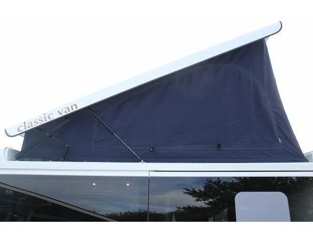 ケイワークス オーロラスタークルーズ クラシックバン ワンオーナー ポップアップルーフ ツインサブ FFヒーター 1500Wインバーター フレキシブルソーラーパネル シンク カセットコンロ 走行充電 外部充電 外部電源 アルパインBIG-X ETC(11枚目)