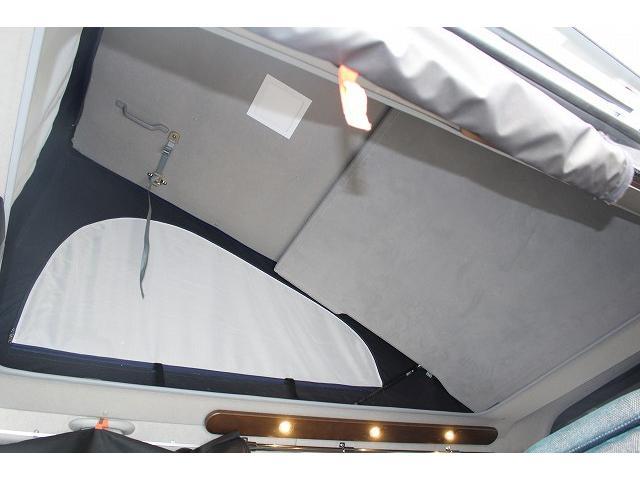 ケイワークス オーロラスタークルーズ クラシックバン ワンオーナー ポップアップルーフ ツインサブ FFヒーター 1500Wインバーター フレキシブルソーラーパネル シンク カセットコンロ 走行充電 外部充電 外部電源 アルパインBIG-X ETC(16枚目)
