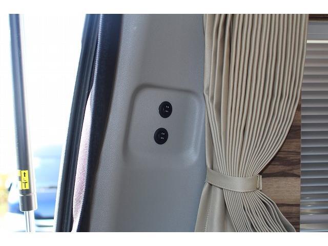 ケイワークス オーロラスタークルーズ クラシックバン ワンオーナー ポップアップルーフ ツインサブ FFヒーター 1500Wインバーター フレキシブルソーラーパネル シンク カセットコンロ 走行充電 外部充電 外部電源 アルパインBIG-X ETC(65枚目)
