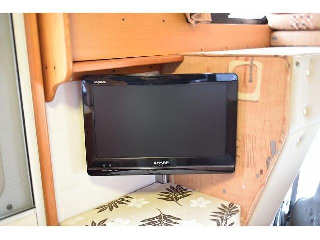 グローバル アスリート サブバッテリー FFヒーター シンク 冷蔵庫 350Wインバーター 走行充電 外部充電 外部電源 ルーフベント サイドオーニング 架装部TV テーブル 地デジアンテナ リアヒーター リアクーラー(32枚目)