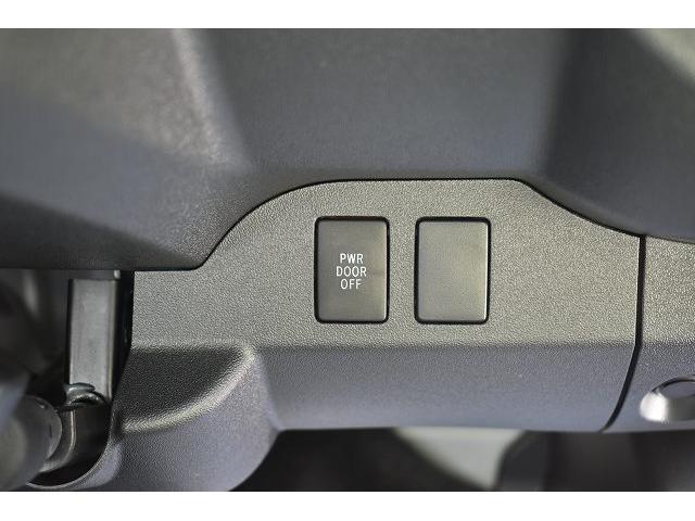 トヨタセーフティセンス キーレス パワースライドドア ステアリングスイッチ レザーシート加工 シンク 冷蔵庫 15インチフリップダウンモニター ナビ切替スイッチ 運転席・助手席コの字カーテン(20枚目)
