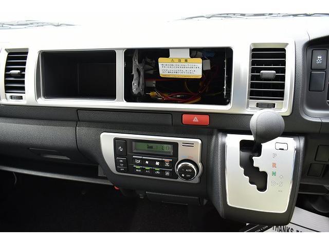 リノタクミ DS-Lスタイル トヨタセーフティセンス スマートキー パワースライドドア LEDヘッドライト シンク 冷蔵庫 レザーシート加工 15インチフリップダウンモニター ナビ切替スイッチ 運転席・助手席コの字カーテン(16枚目)