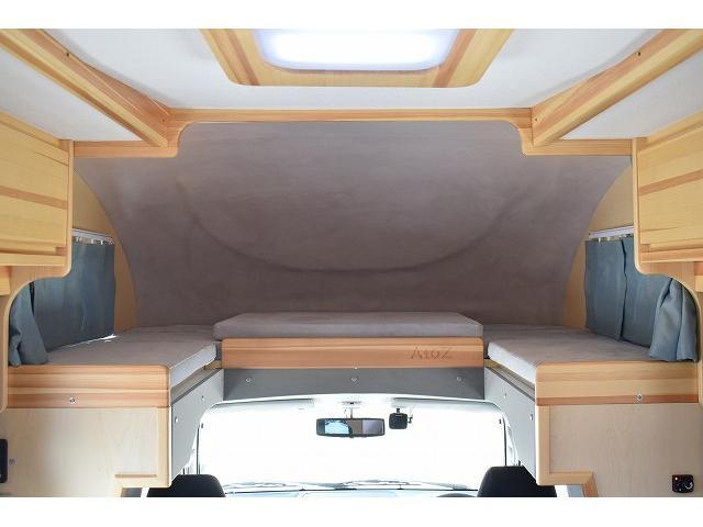 AtoZ アミティ LE朱夏 ワンオーナー ツインサブ FFヒーター クレクール 1500Wインバーター マックスファン ソーラーパネル シンク 冷蔵庫 走行充電 社外メモリーナビ フルセグ バックカメラ ETC ドラレコ(44枚目)