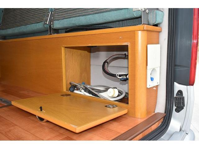 オリジナル キャンピング ツインサブ 1500Wインバーター 電子レンジ シンク 冷蔵庫 走行充電 外部充電 ガゼルアンテナ サイドオーニング 社外メモリーナビ バックカメラ ワンセグ ETC フリップダウンモニター HID(47枚目)