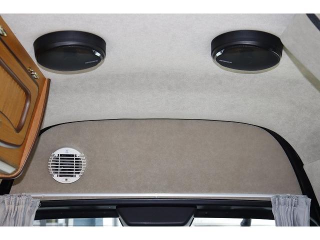 ビークル ブロス サブバッテリー FFヒーター シンク コンロ 冷蔵庫 走行充電 外部充電 メインサブ切り替えスイッチ SDナビ フルセグ バックカメラ ETC フリップダウンモニター 社外15インチアルミホイール(37枚目)