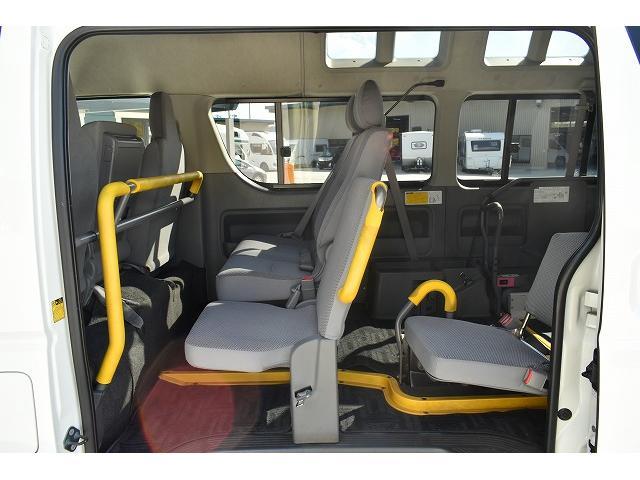 リアリフト 車椅子2基 電動車椅子固定装置 ニールダウン(13枚目)