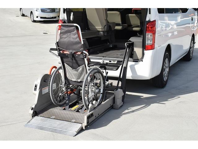福祉車両 リアリフト 車椅子2基 車椅子電動固定装置 手すり(4枚目)