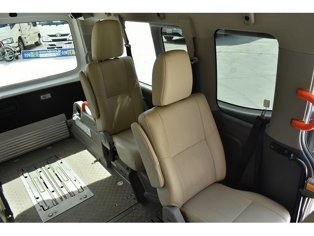 福祉車両 リアリフト 車椅子2基 電動固定装置 HID(14枚目)