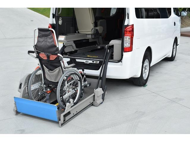 福祉車両 リアリフト 車椅子2基 電動固定装置 Bカメラ(4枚目)