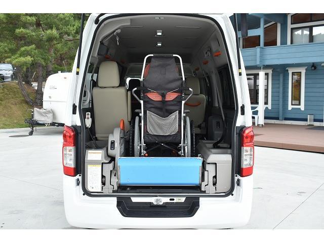 福祉車両 リアリフト 車椅子2基 電動固定装置 Bカメラ(5枚目)