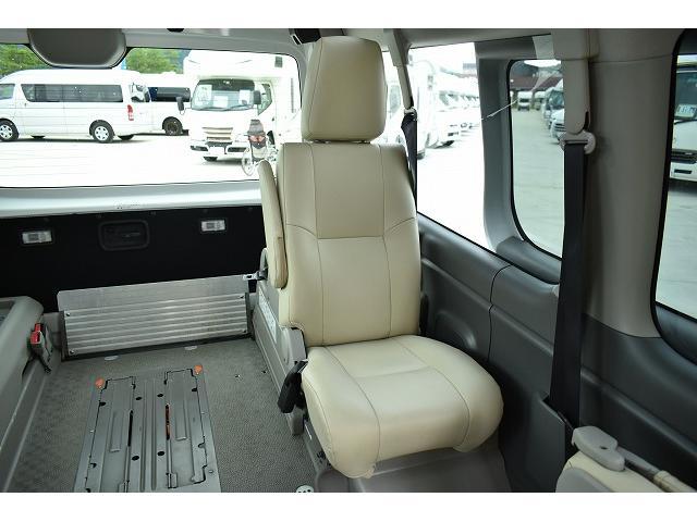 福祉車両 リアリフト 車椅子2基 電動固定装置 Bカメラ(14枚目)