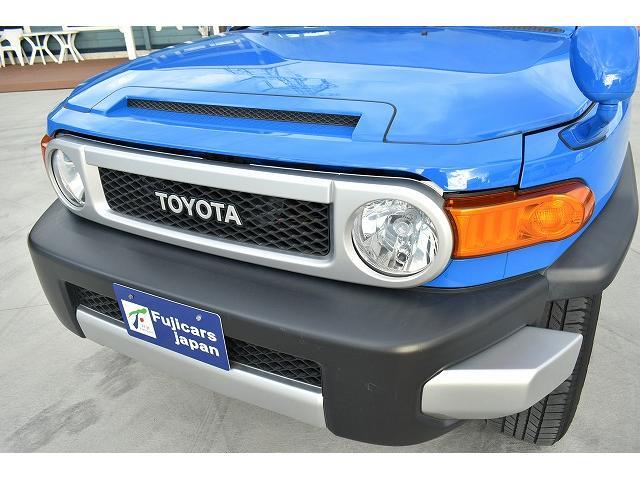 トヨタ FJクルーザー カラーパッケージ HDDナビ ガナドールマフラー クルコン