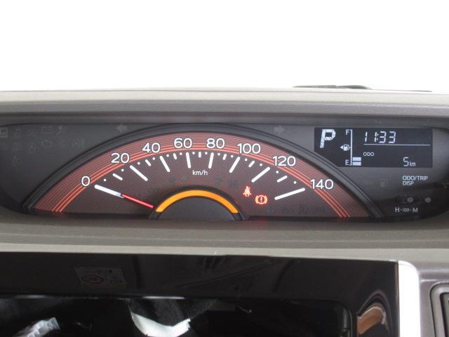 夜間も見やすいメーター部分!シンプルなので、走行中のメーターチェックもしやすい☆ガソリン残量も分かりやすいのが嬉しいポイントです!