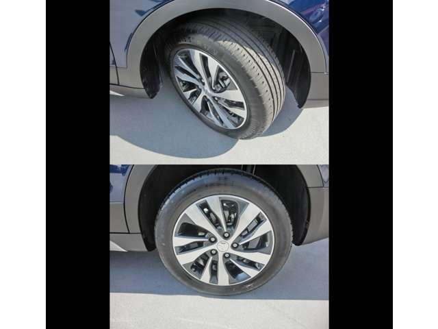車検整備付きのお車は、整備費用が車輌本体に含みますので、車検代行費用と重量税、自賠責保険料のみ別途頂いております。最新の設備にて整備させて頂けますので安心してお乗りいただけるよう努めております。