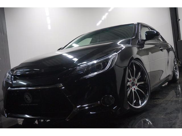 トヨタ マークX 250GリラセレG's仕様新シャレン19新車高調イカリング