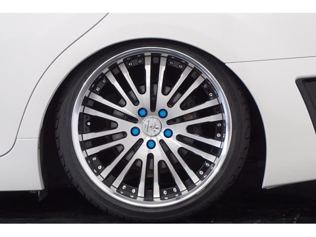 トヨタ マークX 250リラセレGs仕様新ワーク19新車高調アクリルテール