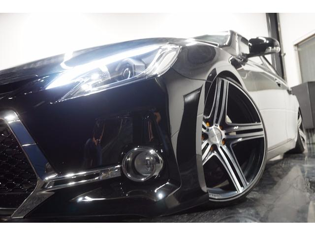 トヨタ マークX 250GリラセレG's仕様新WALD20新車高調Bカメラ