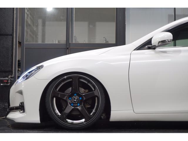 トヨタ マークX 全国陸送無料リラセレG's仕様新ワーク新車高調アクリルテール