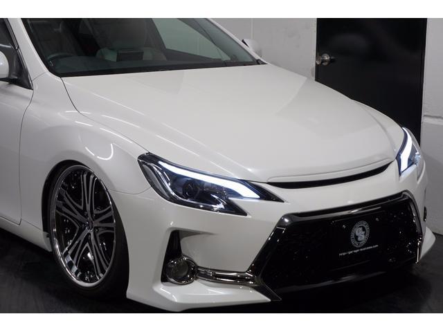 トヨタ マークX 250G's仕様新AME20AW新車高調SRアクリルHDD
