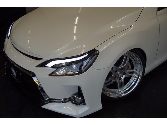 トヨタ マークX 250G's仕様s新ワーク19AW新車高調HDD