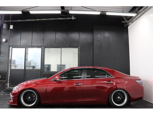 ●マークX専門店●フルカスタムやフルエアロなどの追加カスタムも大歓迎!ヘッドライト加工やオーディオドレスアップなども納車前に作業をさせて頂き、理想のお車になった状態でご納車させていただきます!