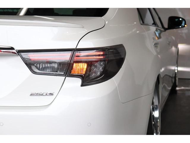 250S ファイナルエディション 新品モデリスタハーフエアロ/新品フルタップ式TEIN車高調/新品デュランダルWORK19AW/新品タイヤ/パドルシフト/クルコン/シートヒーター(8枚目)