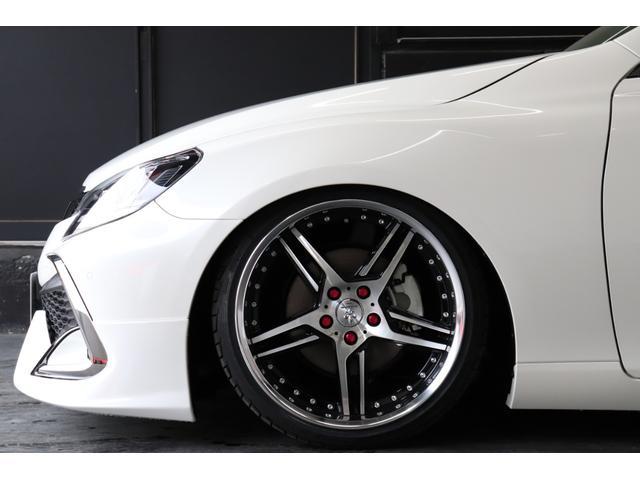 250S ファイナルエディション 新品モデリスタハーフエアロ/新品フルタップ式TEIN車高調/新品デュランダルWORK19AW/新品タイヤ/パドルシフト/クルコン/シートヒーター(11枚目)