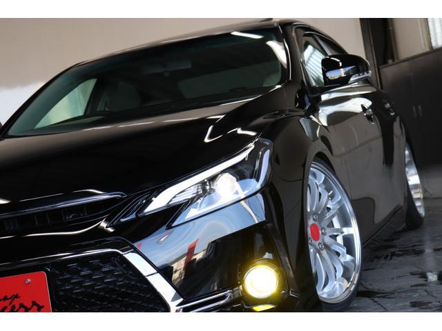 250G リラックスセレクション サンルーフ/G's仕様/新品アネーロ19AW/新品TEIN車高調/シーケンシャルヘッドライト/OP付きスモークテールランプ/Bluetoothオーディオ/地デジ/ETC/パワーシート/バックカメラ(8枚目)