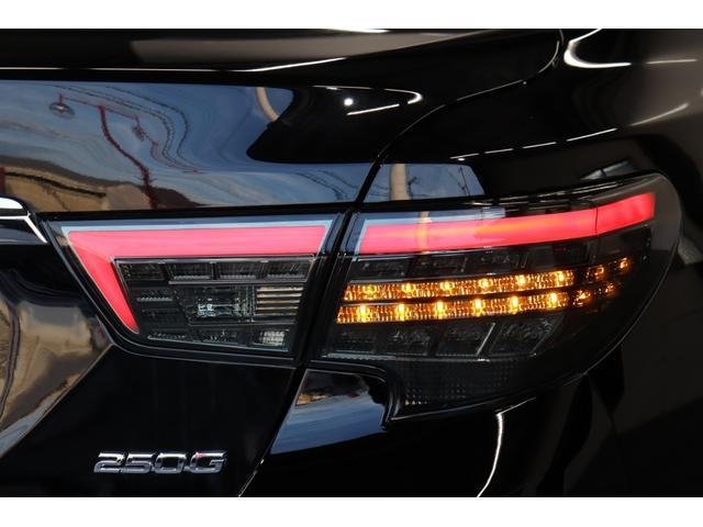 250G リラックスセレクション サンルーフ/G's仕様/新品アネーロ19AW/新品TEIN車高調/シーケンシャルヘッドライト/OP付きスモークテールランプ/Bluetoothオーディオ/地デジ/ETC/パワーシート/バックカメラ(50枚目)